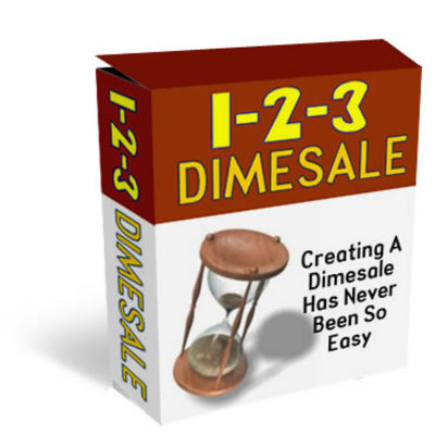 Product picture 1-2-3 Dimesale - Explode Your Profits Now (with MRR)